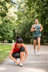 Jogging lifestyle