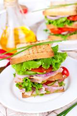 Great sandwich for breakfast