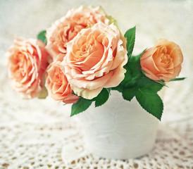 Beautiful fresh roses.