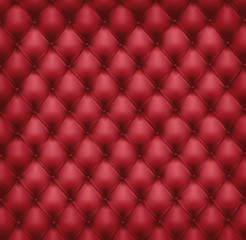 Keuken foto achterwand Leder Texture capitonnée