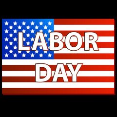 Happy Labor day american