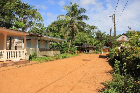 Guyane - Village de Kaw