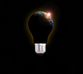Light Bulb with global inside