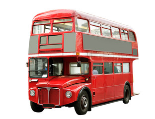 Foto auf Acrylglas London roten bus Red bus.