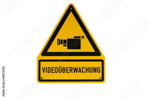 schild video berwachung kamera gelb schwarz stockfotos und lizenzfreie bilder auf. Black Bedroom Furniture Sets. Home Design Ideas