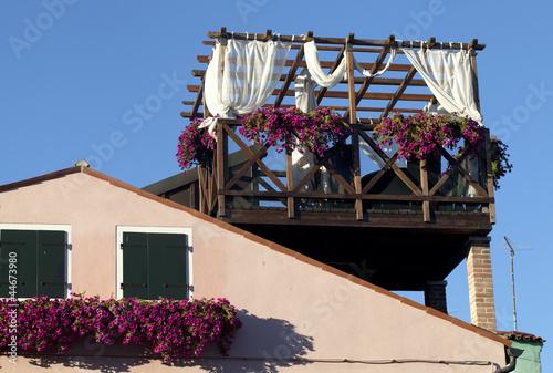 Terrazzo sul tetto\