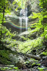 Paehler Schlucht waterfall