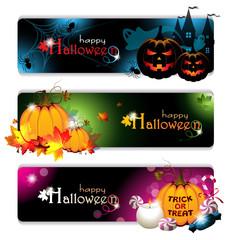 Fancy Halloween Banners