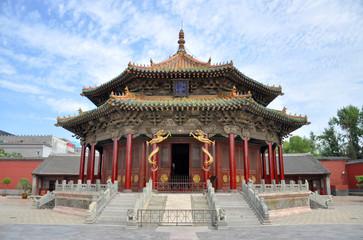 Wall Murals China Shenyang Imperial Palace Dazheng Hall, Shenyang, China.