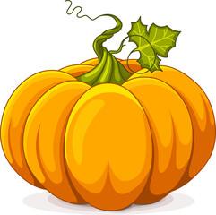 Canvas Prints Fairytale World Autumn Pumpkin