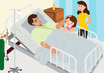 Visiting Patient In Hospital