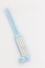 Krankenhaus-ID-Armband in blau für Jungen