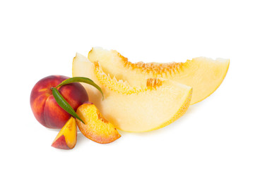 Персик и дыня