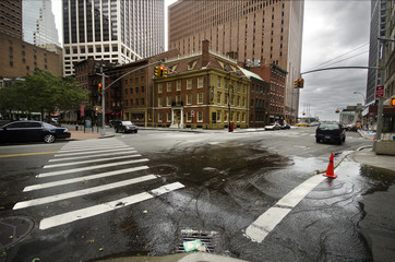 Fraunces Tavern after Irene