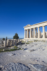 Fototapete - Acropolis and Parthenon, Greece