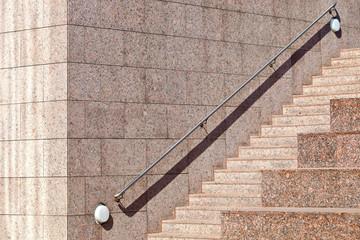 Treppenstufen Handlauf