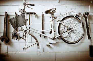In de dag Fiets bicicletta vintage