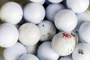 Pelotas de golf blancas