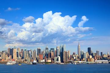 Manhattan skyline with Empire State Building, New York