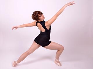 frau ballettanz