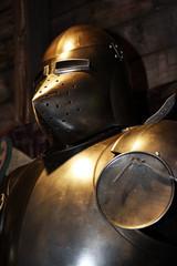 Medieval warrior soldier metal protective wear
