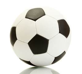 football ball, isolated on white