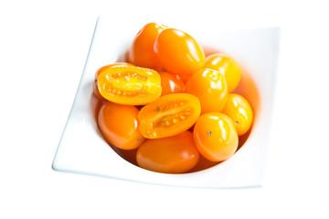 Golden Plum Tomatoes