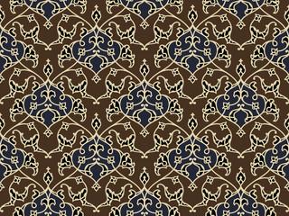 Classic Arab Seamless Pattern