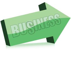 Arrow word business