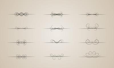 Set fo design elements