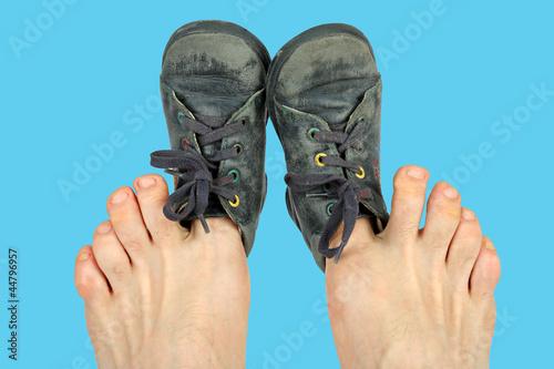 zu Fotolia Stockfotos auf kleine lizenzfreie Viel Schuhe und Bilder D9WEH2IY