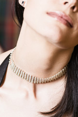 Prunkvolle Halskette