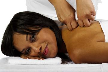 Amateur female massage