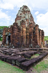 Prang Bhramathat building at Phimai Historical Park