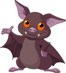 Halloween  bat presenting