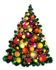 Vector of Christmas tree.