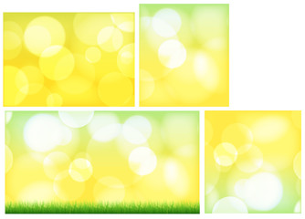 Bokeh Lights Abstract Backgrounds
