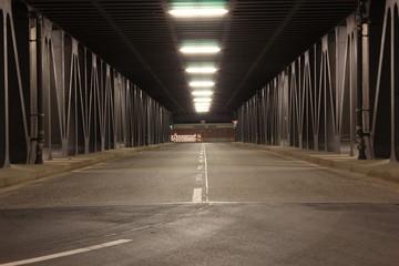 Fotobehang Brug Brücke ohne Namen