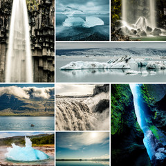 Wall Murals Arctic impressions of iceland