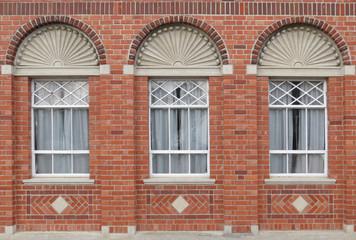 Brick Window Wall