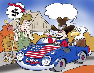 Buy a car in the U.S. for a low tax import price