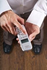 executive telephoning