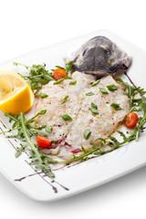 Italian Fish Crudo
