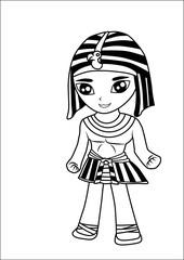 Egyptian men vector cartoon