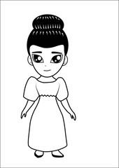 Women vector cartoon
