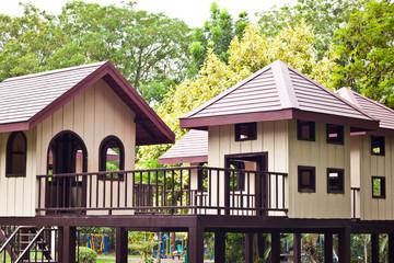 Home for child in garden