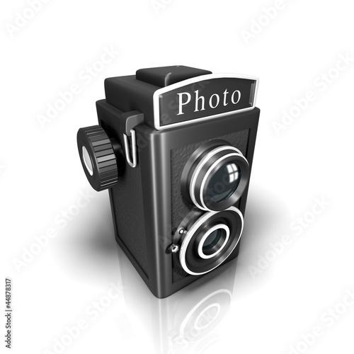 appareil photo ancien photo libre de droits sur la banque d 39 images image 44878317. Black Bedroom Furniture Sets. Home Design Ideas