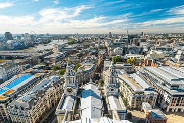 London view from St. Pauls