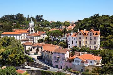 Blick auf Sintra, Portugal