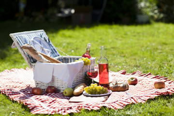 Wall Murals Picnic Perfect food in the garden. picnic